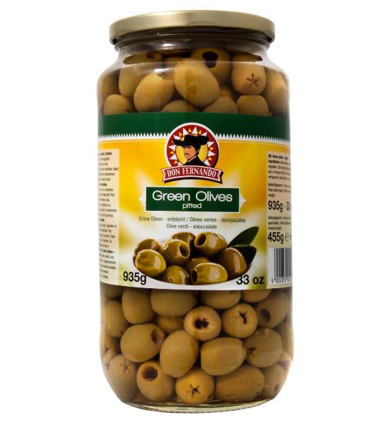 Зеленые оливки без косточек DON FERNANDO, 935 гр. - интернет- магазин «BRAND stock» в Тернопольской области