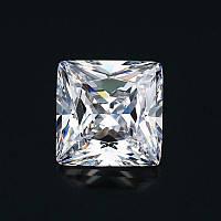 Фианит(кубический циркон).Форма - квадрат. Crystal 2х2мм. 1шт
