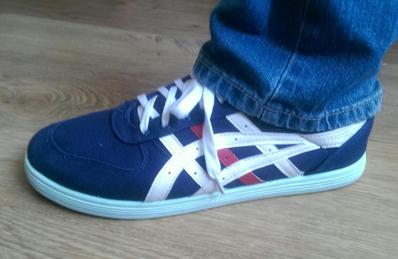 Крепкие кроссовки в стиле Asics 41 (26,5 см) размеры 3