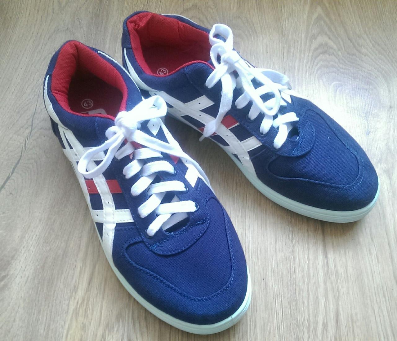 Крепкие кроссовки в стиле Asics 41 (26,5 см) размеры 5