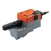 LR24A-S, LR230A-S Электропривода для регулирующих и откр./закр. шаровых клапанов с концевиками DN 15-32