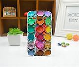 Чехол для Samsung Galaxy J2/ J200 панель накладка с рисунком ромбы, фото 7