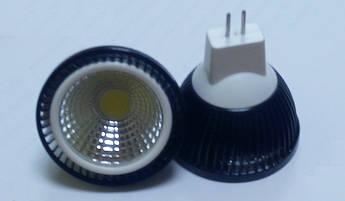 Светодиодная лампочка 5W GU 5.3  12V MR16