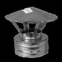 Грибок с термоизоляцией ф220/280 н/н (козырёк, зонтик, колпак, дымник, флюгарка, накрывка на дымоход)