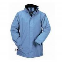 Куртка мужская, весенняя ветровка на молнии SOL'S RUSH, голубого цвета