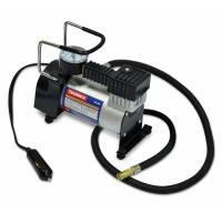 Компрессор автомобильный металлический Technics, 12-15 В, 16А, 5 л/мин, макс.давление 10 Атм