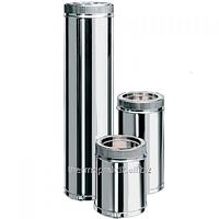 Труба из нержавеющей стали с термоизоляцией оцинкованная ф150/220*0.5м