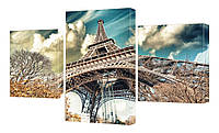 Модульная картина 290 Париж