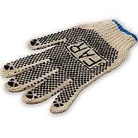 Перчатки FAR 600г с ПВХ точкой, цвет серый, размер ХL