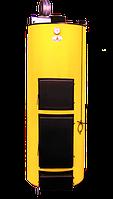 Отопительные котлы на твердом топливе длительного горения Буран П 15 У+ГВС (Чугунный колосник), фото 1