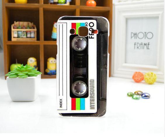Чехол для Samsung Galaxy J5/ J500 панель накладка с рисунком кассета