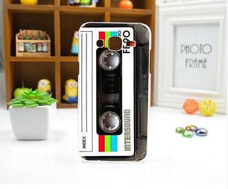 Чохол для Samsung Galaxy J5/ J500 панель накладка з малюнком касета