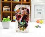 Чехол для Samsung Galaxy J5/ J500 панель накладка с рисунком мопс, фото 7