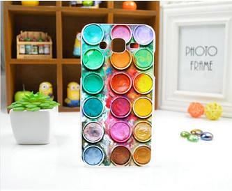Чохол для Samsung Galaxy J5/ J500 панель накладка з малюнком фарби