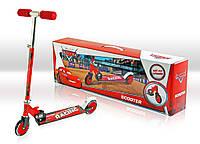 Самокат SD0108 Disney Сars.світло,метал..,2 колеса PVC