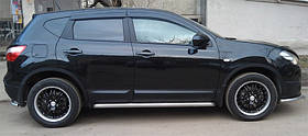 Ветровики  Nissan QASHQAI 2010-2014
