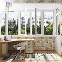 Балкон чешка остеклить стоимость в Киеве и пригороде