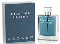 Azzaro Chrome United 100 мл туалетна вода для чоловіків (Мужская туалетная вода) (Реплика)