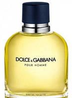Dolce&Gabbana (D&G) Pour Homme Men туалетная вода 125 мл туалетна вода для чоловіків (Мужская туалетная вода)