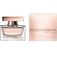 Dolce&Gabbana (D&G) Rose The One 75 мл туалетна вода для чоловіків (Мужская туалетная вода)