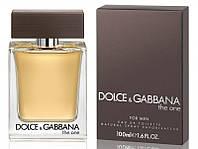 Dolce&Gabbana (D&G) The One for Men 100 мл туалетна вода для чоловіків (Мужская туалетная вода)