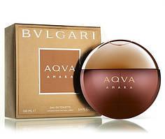 Bvlgari Aqva Amara 100 мл туалетна вода для чоловіків (Мужская туалетная вода) (Реплика)