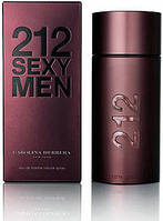 Carolina Herrera 212 Sexy MEN 100 мл туалетна вода для чоловіків (Мужская туалетная вода)