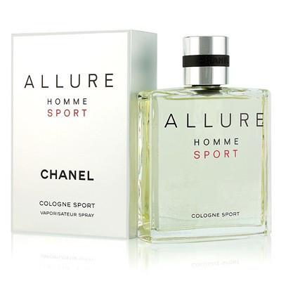 Chanel Allure Homme Sport Cologne 100мл жіноча парфумована вода (женская парфюмерная вода) (Реплика)