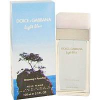 Dolce&Gabbana (D&G) Light Blue Pour Femme Dreaming in Portofino 100мл (Реплика)