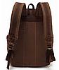 Мужской рюкзак с кожаными ремешками, фото 2