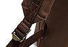 Мужской рюкзак с кожаными ремешками, фото 5
