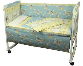 Набір в дитячу ліжечко Журавлик