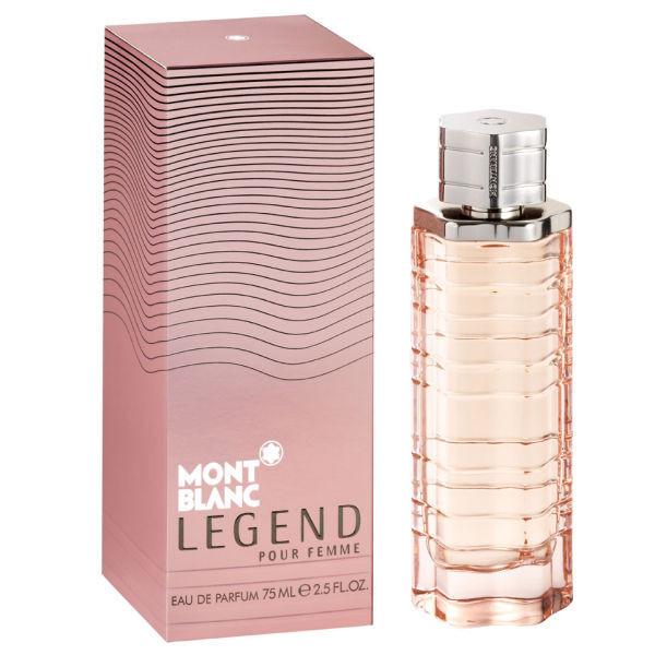 Montblanc Legend Pour Femme 75 мл жіноча парфумована вода (женская парфюмерная вода) (Реплика)