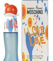 Moschino I Love Love Wom туалетная вода 100ml