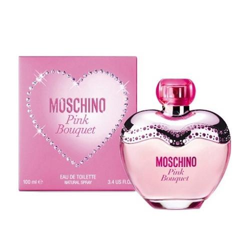 Moschino Pink Bouquet 100 мл жіноча парфумована вода (женская парфюмерная вода) (Реплика)