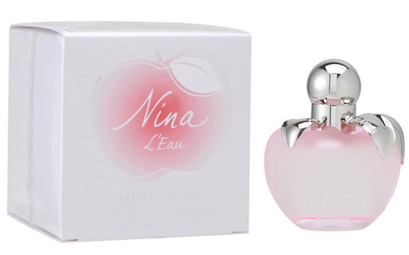 Nina Ricci Nina LEau 80 мл жіноча парфумована вода (женская парфюмерная вода) (Реплика)
