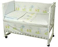 Набор в детскую кроватку Зайка на прогулке