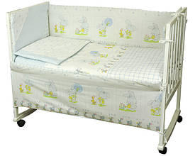 Набір в дитячу ліжечко Зайчик на прогулянці