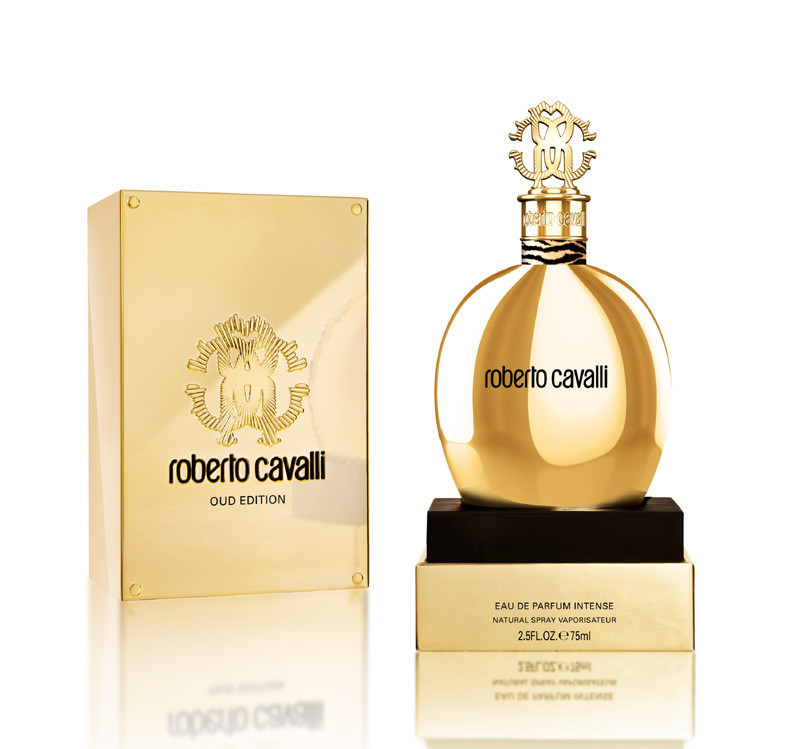 Roberto Cavalli Oud Edition 75мл жіноча парфумована вода (женская парфюмерная вода) (Реплика)