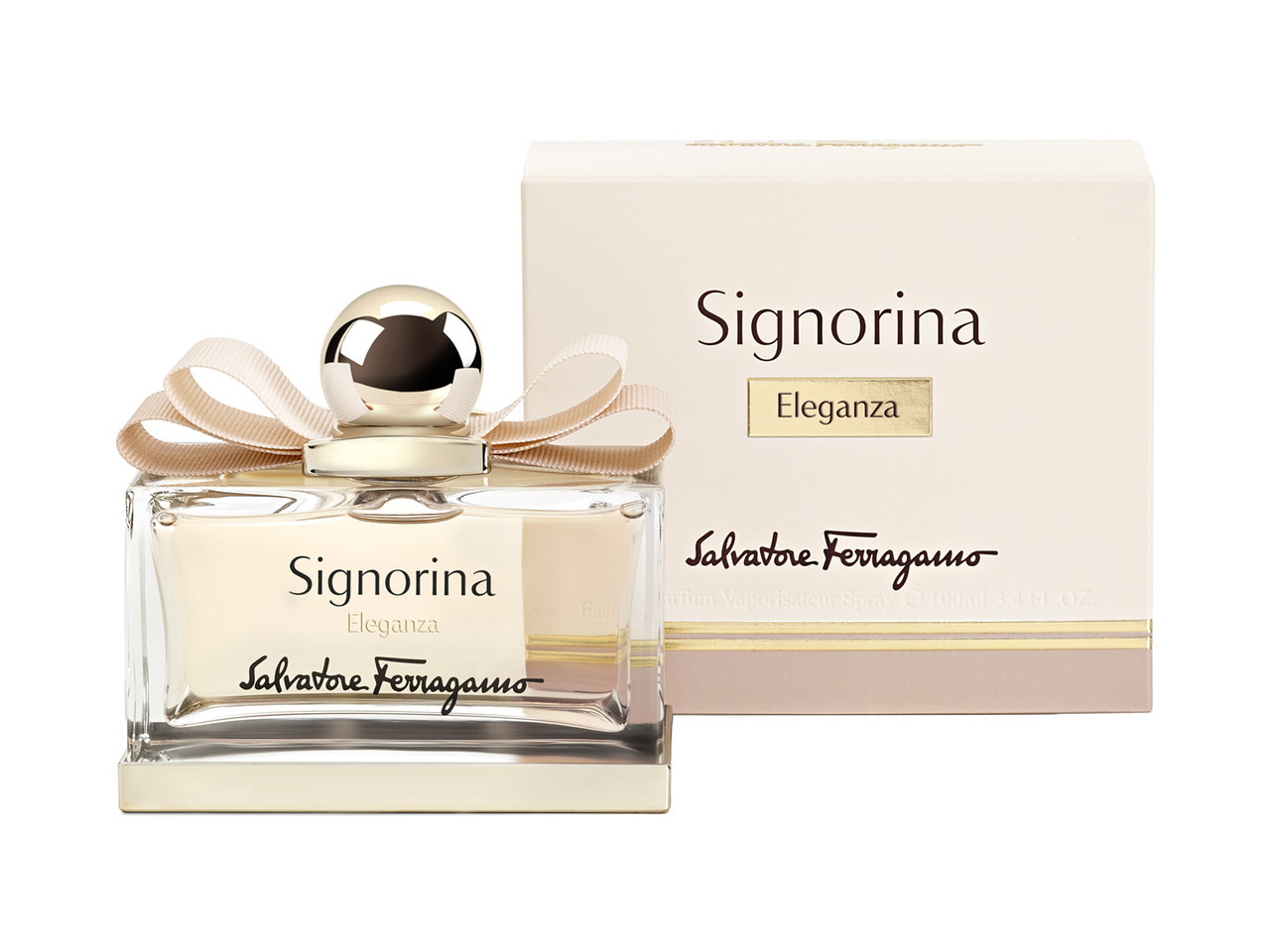 Salvatore Ferragamo Signorina Eleganza 100мл жіноча парфумована вода (женская парфюмерная вода) (Реплика)
