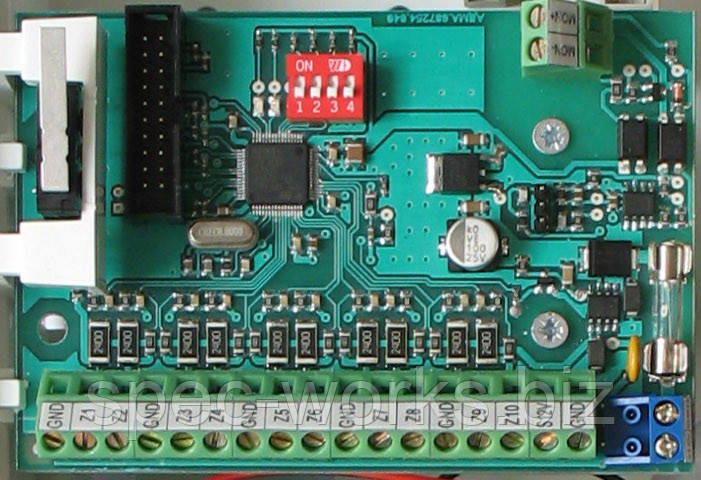 Модуль расширитель зон Лунь-11Е для ППКП Лунь-11