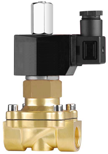 "Клапан электромагнитный KLQD 2W160-15NO AC220V, 1/2"", норм.-откр."