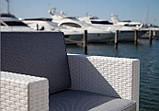 Комплект мебели из искусственного ротанга белый COLORADO-2, фото 3