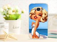 Чехол для Samsung Galaxy S3/ i9300 панель накладка с рисунком девушка