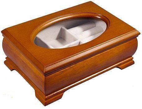 Красивая шкатулка для украшений King Wood 9028-2A коричневый