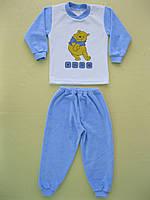 Пижама на мальчика велюровая 30р.