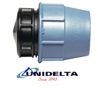 Unidelta заглушка 90