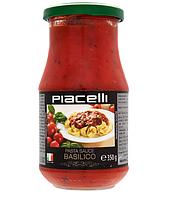 Томатная паста - соус с базиликом Piacelli, 350 гр.