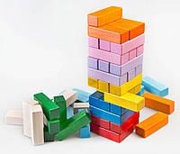 """Игра """"Дженга"""" 54 деревянных блока"""