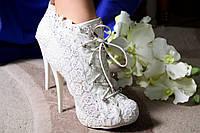 Свадебные ботильоны 001